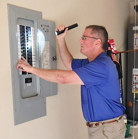 home inspections dallas tx, home inspector dallas tx, electrical panel