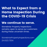 What to Expect from a Home Inspection During the COVID-19 Crisis